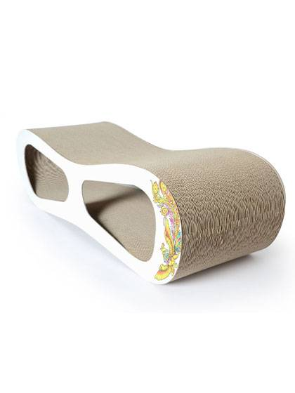 Multi Surface Cardboard Cat Scratcher