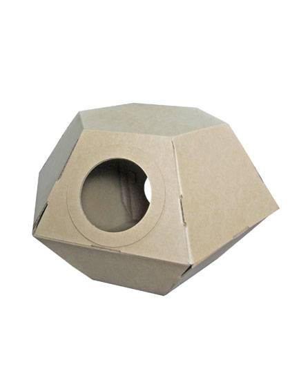 Paper Cat Toy House