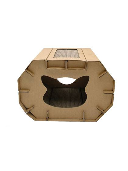 Luxury Cat House with Scratching Boards