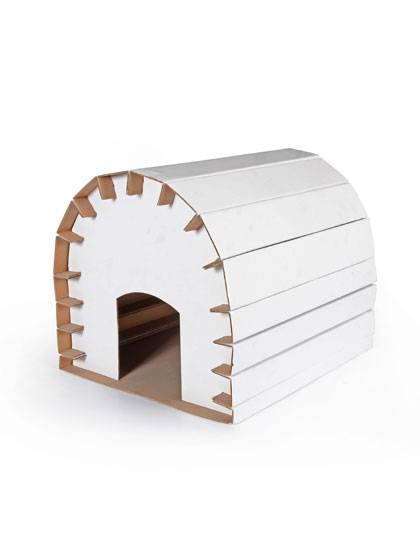 Billige Pap Cat House