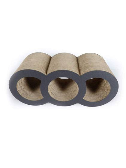 3 Holes Corrugated Cat Scratcher