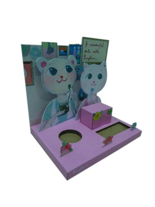 Counter Top Display Merchandiser For Cosmetic
