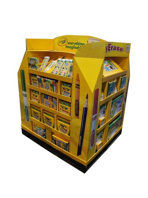 Disney 4 Side Full Pallet Display Stand with Hooks & Divider