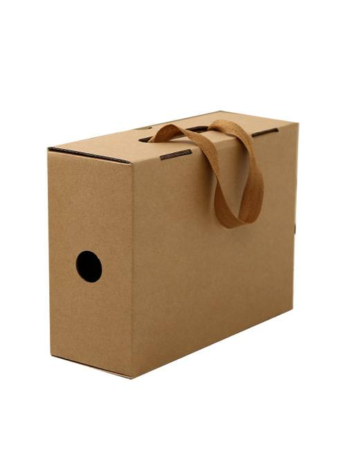 Big Kraft Paper Shopping Apparel Packaging Box
