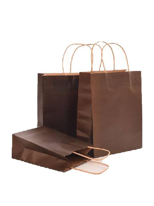 Customized Printed Kraft Shopping Paper Bag Featured Image