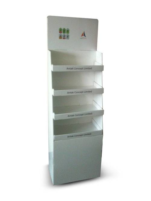 Hot Sale for Creative Cardboard Display – Custom Printing Shelf Stand Cardboard Store Display  – YJ Display