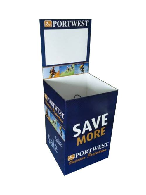 Good Wholesale Vendors Cardboard Bin Display -