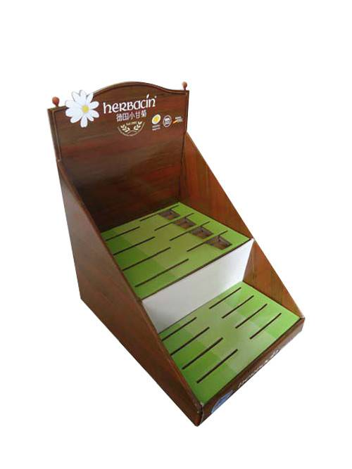 cardboard counter display unit pos countertop display for gift card