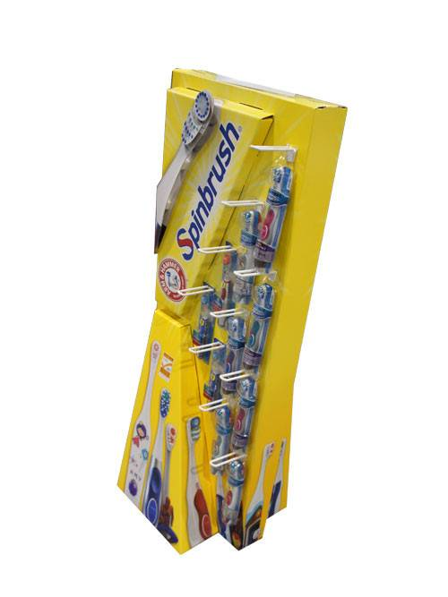 Cheap price Cardboard Floor Pallet Display -