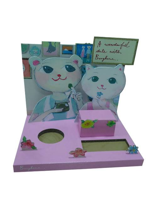 High definition Merchandise Cardboard Display -