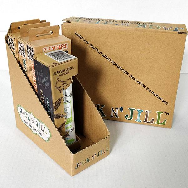 Corrugated and Cardboard Packaging for Retail Stores HLD-PB001 Featured Image