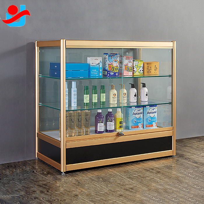 China Mobile Phone Shop Interior Design Display Cabinet Glass Store Display Showcase Factory And Manufacturers Yujin
