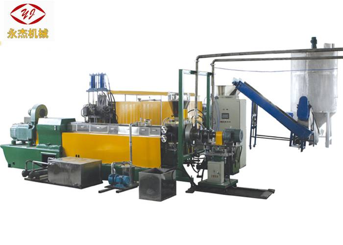 132kw PE PP Plastic Film Granulator , Plastic Film Recycling Machine Large Capacity