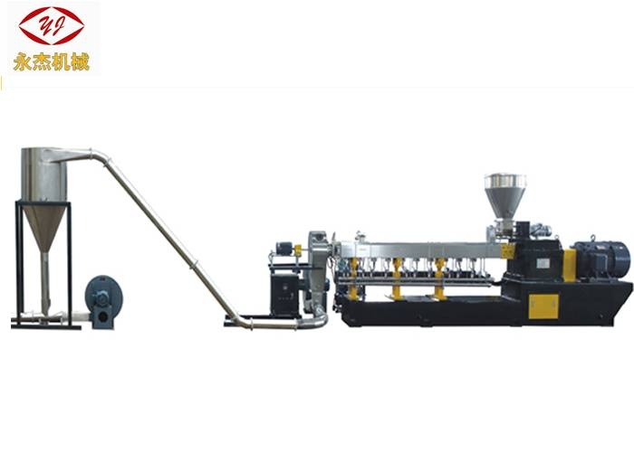 Twin Screw Extruder caco3 Filler Masterbatch Machine For Wpc Plastic Pellet