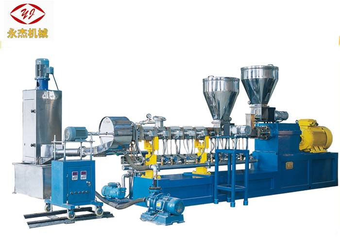 Parallel Water Ring Plastic Compounding Machines , Pellet Making Equipment 160kw