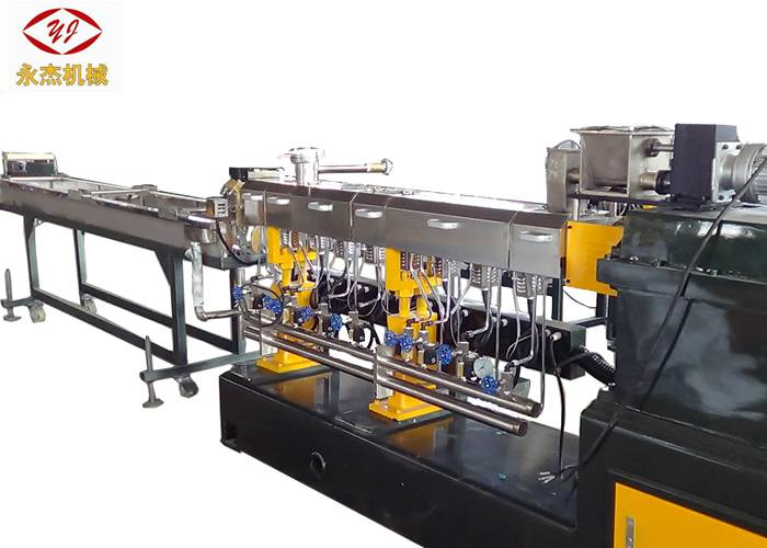 100-150kg/H Master Batch Manufacturing Machine Water Cooling Strand Cutting Type