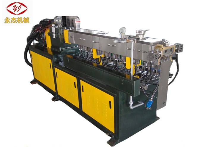 Heavy Duty Plastic Pellet Making Machine , Eps Pelletizing Machine 11kw Motor