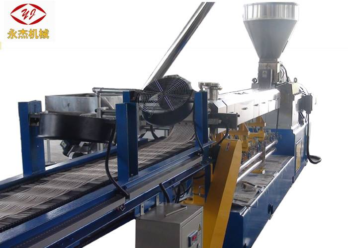 Corn Starch Biodegradable Plastic Pellet Making Machine , PP Extruder Machine 90kw Featured Image