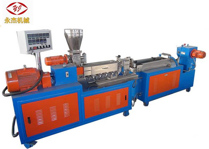 0.25kw Feeder Co Rotating Twin skroef extruder, Laboratorium Scale Extruder Machine