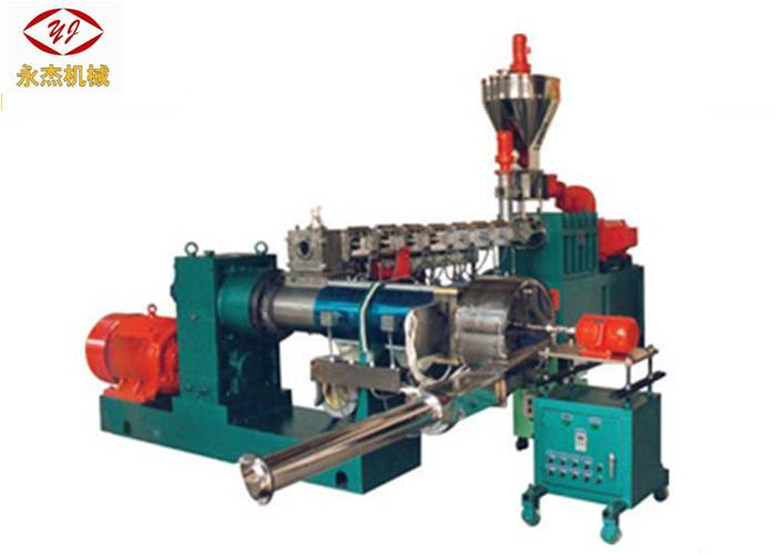 Twin – Single Two Stage Recycling Machine , Co Extruder Machine Low Noise