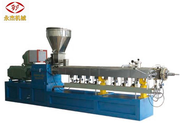 Professional Twin Screw Extrusion Machine , WPC Extrusion Line Wear Resistance