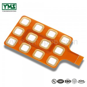 I-Flexible PCB Board, i-2layer Cem-3 Stiffener |  YMSPCB