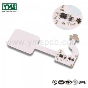 I-1Layer White solder mask Flexible Board |  YMSPCB