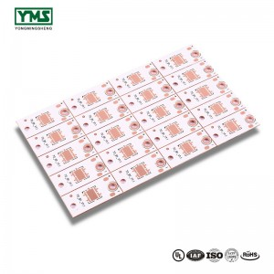 Thermal Clad metal core PCB 1Layer Thermoelectric Copper base Board |  YMSPCB