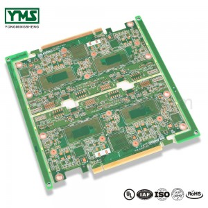 HDI pcb any layer hdi pcb high speed insertion loss test enepig| YMSPCB