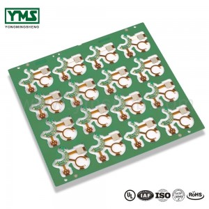 Massive Selection for Hearing Aids Printed Circuit Board - Rigid flex pcb manufacturer HDI staggered vias Stiffener| YMSPCB – Yongmingsheng