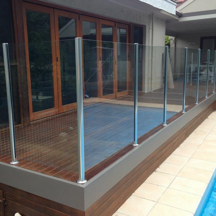 China Factory Outlets Glass Pool Fences Sunshine Coast Safety Glass Railings Glass Pool Fences Yongyu Factory And Manufacturers Yongyu