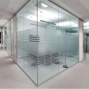 Safety Glass Partitions