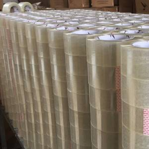 Clear/Transparent BOPP Packing Tape for Carton Sealing