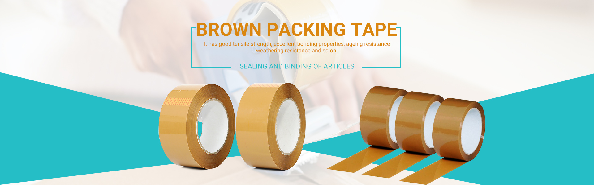 Brown Balení Tape