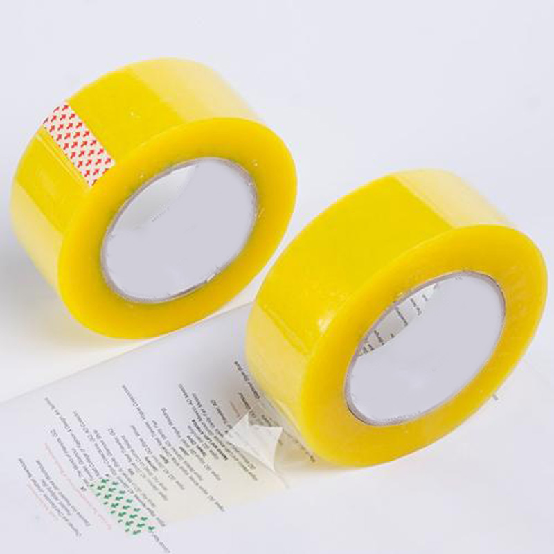 Yellowish opp packaging tapes Clear Carton Sealing Tape Featured Image