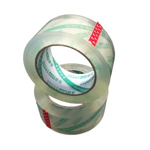 Super clear packing tapes