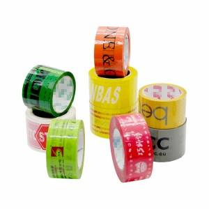 Bopp Printed Tape Adhesive Packing Tape With Logo