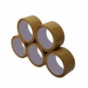 Rolls Per Pack 48mm X 66m Brown Packaginig Tape