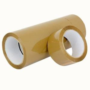 Premium Grade Brown Self Adhesive Bopp Packing Tape
