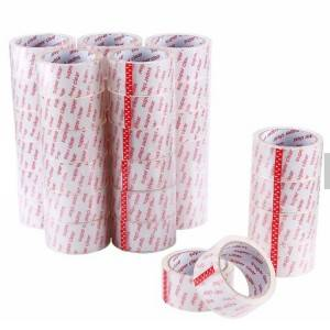 Transparent Carton Sealing Packing Bopp Adhesive Tape