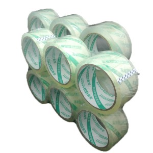 BOPP Super Clear No Bubble Adhesive Carton Packaging Sealing Tape