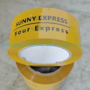Custom logo printed BOPP Acrylic Adhesive Package Carton Sealing Tape