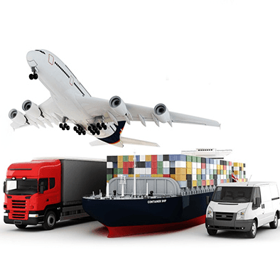 We can offer shipping via international express ( such as DHL , TNT , UPS , EMS and Fedex ) , air and sea .