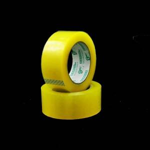 bopp yellowish package tape 45mm width 100m