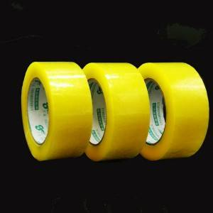 China Carton BOPP Adhesive Scotched Shipping Sealing Tape Transparent
