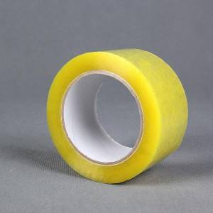 45mic X 48mm X 100y Transparent Yellowish BOPP Packing Tape