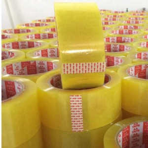 Yellowish opp packaging tapes Clear Carton Sealing Tape