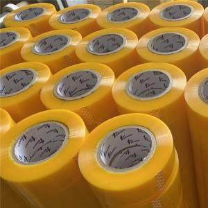 BOPP yellowish packing adhesive tape 180 meter