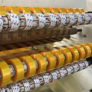 Professional manufacturer yellowish bopp adhesive tape
