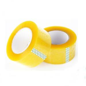 Factory Price BOPP Tape Adhesive Tape Clear 48mm Sticky Carton Packing Tape